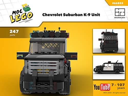 Chevrolet Suburban K-9 Unit (Instruction only): MOCLEGO