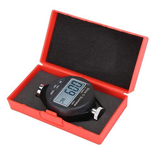 Durómetro de neumáticos fácil de usar, Durómetro de neumáticos de caucho, Probador de dureza de caucho, Fácil de llevar para medir Gel de sílice