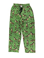 FUNNY DESIGNS: Each pair of pajama pants features a humorous design, often paired with a cartoon and punny saying. These novelty pants are sure to make you laugh with their clever jokes. COMFORTABLE PAJAMA BOTTOMS: These pajamas are made from 100% pr...