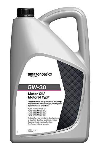 Amazon Basics – Motorenöl 5W-30 Typ F, 5 l