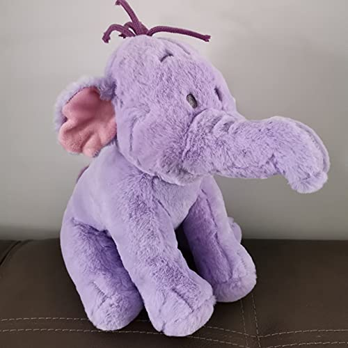Winnie The Pooh Friend Lumpy Heffalump Plush Doll Cute Stuffed Animals Purple Elephant Plush Toys Kids Gifts 1pcs 26cm