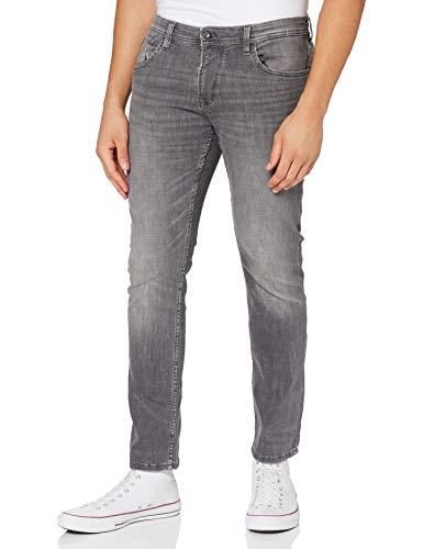 TOM TAILOR Denim Herren Aedan Straight' Jeans, Grau (10219-used mid Stone Grey), 30W / 30L
