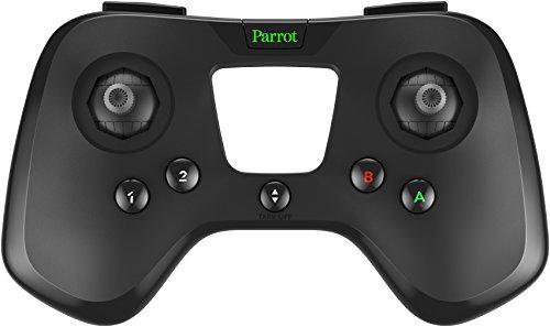 Parrot Flypad Controller Bluetooth-Controller kompatibel mit allen Mini-Drohnen, Schwarz