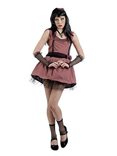 Mascarada ma665 Taille L Manga –-tobiko Girl Costume, Taille L, Marron
