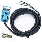 Twidec/4mm Inductive Proximity Sensor Switch 6-36V DC 300mA Detector NPN NO 3-Wire Proximity Switch SN04-N