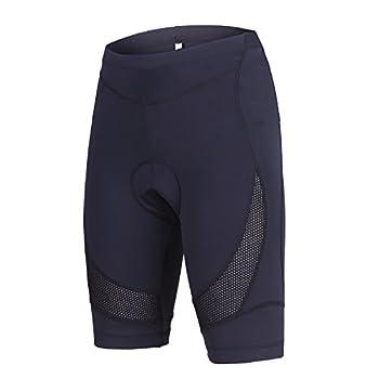beroy Womens Bike Shorts with 3D Gel Padded,Cycling Women s Shorts  M Black