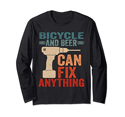 Bicycle And Beer Can Fix Anything Funny Manga Larga
