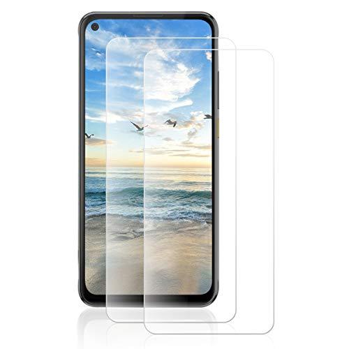 ROVLAK Protector Pantalla para HTC Desire 20 Pro Cristal Templado Protector [2-Pack] 9H Dureza Tempered Glass Screen Protector para HTC Desire 20 Pro