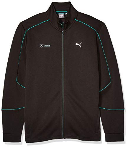 PUMA Herren Jacke Mercedes MAPM Sweat Jacket, Herren, Fleecejacke, MERCEDES MAPM SWEAT JACKET, Puma Black, X-Large