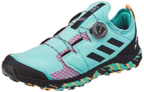 adidas Terrex Agravic Boa, Scarpe da Trail Running Uomo, Multicolore (Menaci Negbás Roschi), 40 2/3 EU