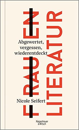 Buchseite und Rezensionen zu 'FRAUEN LITERATUR' von Nicole Seifert