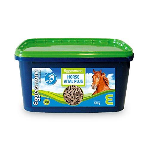 Eggersmann Horse Vital Plus – Mineralfuttermittel für Pferde Aller Art – Vitaminreiches Mineralfutter – 10 kg Eimer
