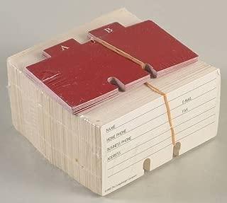 Longaberger Rolodex Cards For Address Basket