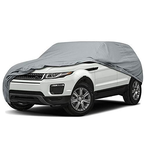 4 Layer Full Coverage Semi Custom Fit SUV Car Cover for Land Rover Range Rover Velar 2018-2021 4-Door