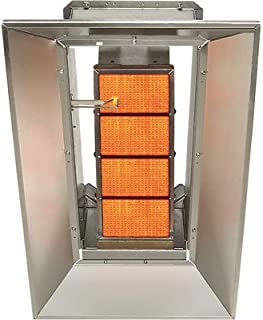 SunStar Heating Products Infrared Ceramic Heater - NG, 40,000 BTU, Model Number SG4-N