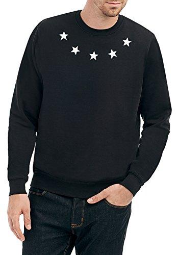 Certified Freak Ring of Stars Sweater Noir-L