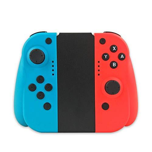 commutateur Bluetooth sans fil manette de jeu gauche et droite accessoires de jeu-Gauche bleu droite rouge