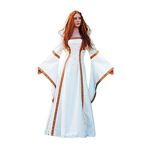 Aptafêtes - CS923341/M - Costume Authentique Médiévale Eleana - Taille M
