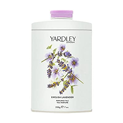 Yardley London English Lavender Perfumed Talc, 200 g from Yardley London