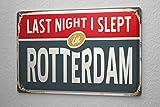 BIT TINBG Metropole Rotterdam Niederlande Vintage Aluminium