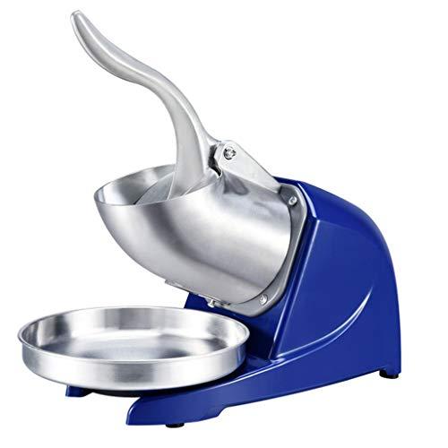Broyeur de glace Rasoir électrique Snow Cone Maker Machine1440 r/min pour la maison et Commerical utilisation, 380W