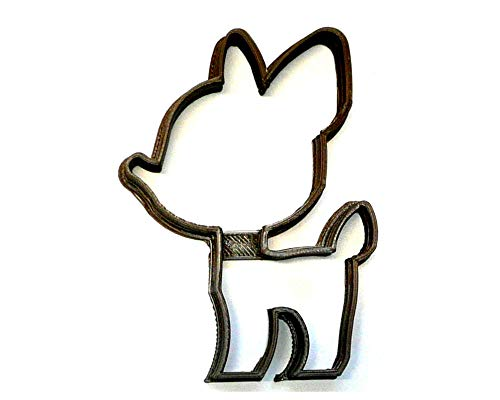 BABY DEER OUTLINE FAWN WOODLAND CREATURE ANIMAL SPECIAL OCCASION COOKIE CUTTER BAKING TOOL 3D PRINTED MADE IN USA PR3633