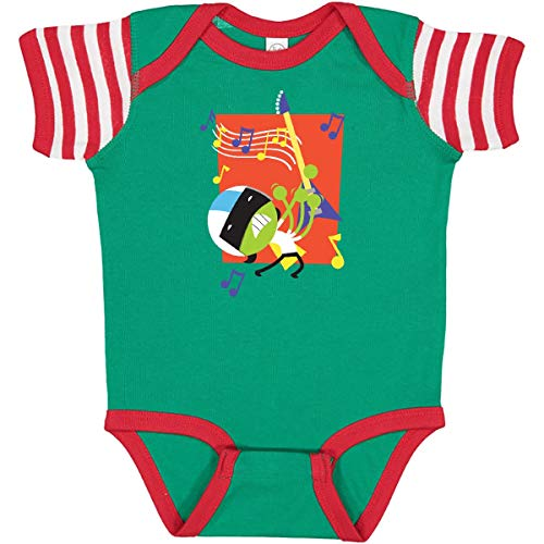 inktastic Dee Infant Creeper 18 Months Green, Red and White - PBS Kids 386fa