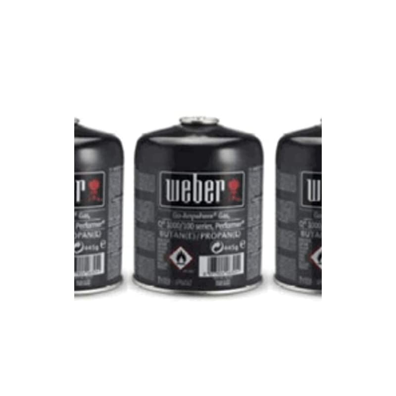 Weber Gas Canister Triple Pack