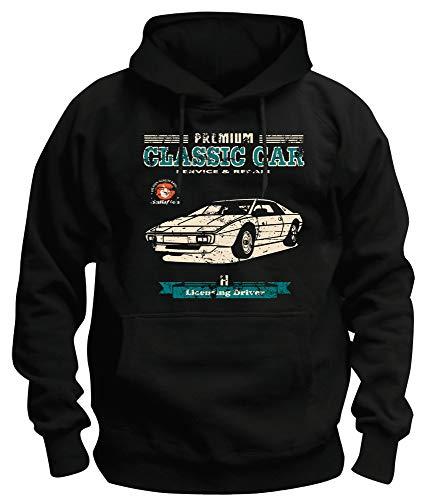 TSP Lotus Esprit Sweat-shirt à capuche Homme - Noir - Medium