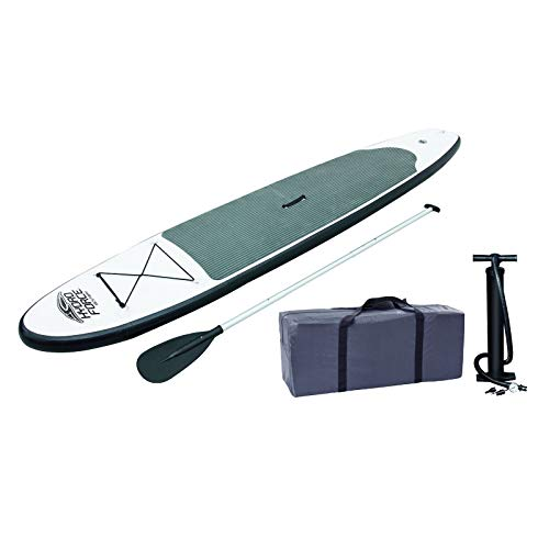 Purchase MRT SUPPLY Inflatable Hydro-Force Wave Edge 122″ x 27″ Stand Up Paddle Board with Ebook