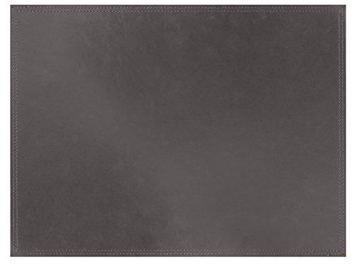 CREATIVE TOPS Bonded Leder Matte, schwarz P, Plastik, grau, 0.3 x 40 x 30 cm