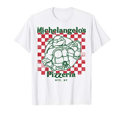 Nickelodeon Teenage Mutant Ninja Turtles Mikeys Yummy Pizza T-Shirt