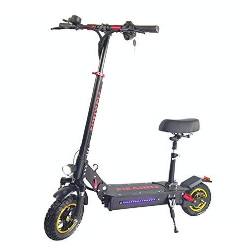 DBG Bicicleta eléctrica para Adultos, eléctrica Plegable 500W con Motores de Ion-Litio...