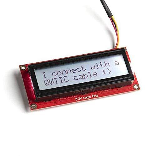 SparkFun Electronics 16x2 SerLCD - RGB Backlight (Qwiic)