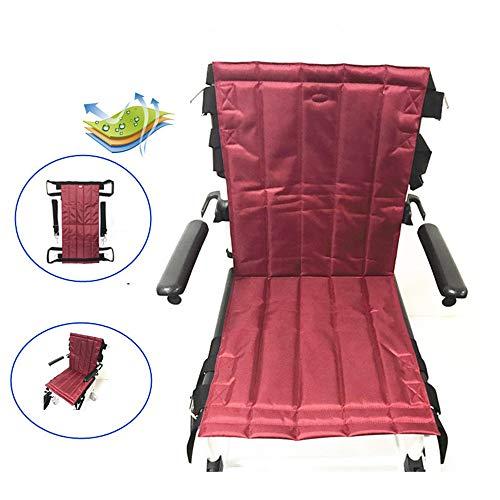 Rollstuhl-Sicherheitsgurt, Sling Patientenlift Treppen Gleitbrett Übertragung Notevakuierung Stuhl Rollstuhl-Gürtel, Sicherheitsmaßnahme Ganzkörper Medical Lifting