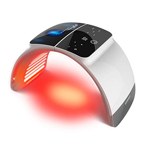 KTops Instrument für Gesichtsschönheit, 7-Fach zusammenlegbares LED-Spektrometer, optisches Hautmanagement, Instrument zur Aktivierung von Akne- und Faltenresistenz zu Hause im Schönheitssalon