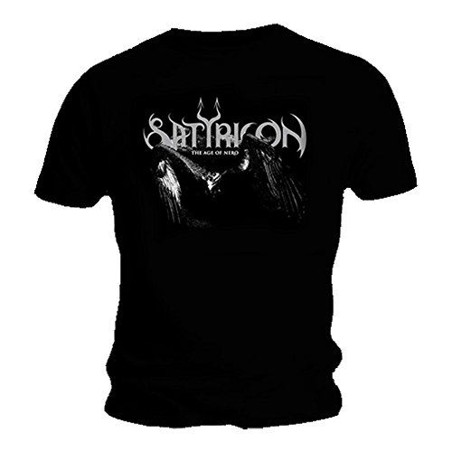 T-Shirt schwarz SATYRICON AGE OF Death Metal NERO, alle Gr??en