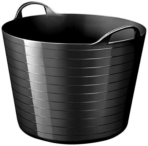Strata zachte mand van polyethyleen met lage dichtheid, 48 x 37,5 cm zwart