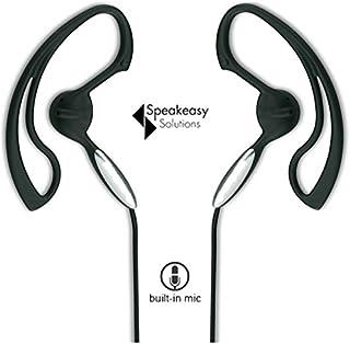 SpeakEasy SpeakEasy Corded Over the Ear Handsfree Boom Headphones - Compatible with 3.5mm and 2.5mm Phones - iPhone, Samsu...