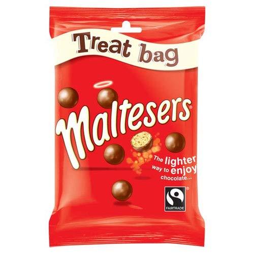 Maltesers Chocolate Treat Bag - Pack of 24 x 68G
