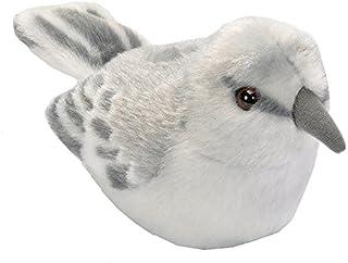 Wild Republic Audubon Birds Northern Mockingbird Plush with Authentic Bird Sound, Stuffed Animal, Bird Toys for Kids and B...