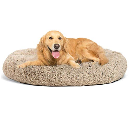 XHNXHN Cama Grande para Perros Camas para Mascotas Estera para cajones Camas para Perros Cojín Suave para Mascotas para Perros con Fondo Antideslizante con Funda Desmontable y Lavable Cama para per