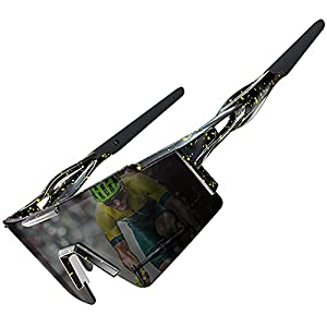 ATTCL Bike Sunglasses, Cycling Polarized Sunglasses for Women and Men, UV Protection Big Frame