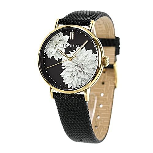 [テッドベーカー] TED BAKER フィリッパ ぺオニア 37mm 花柄 クオーツ レディース 腕時計 BKPPHF011