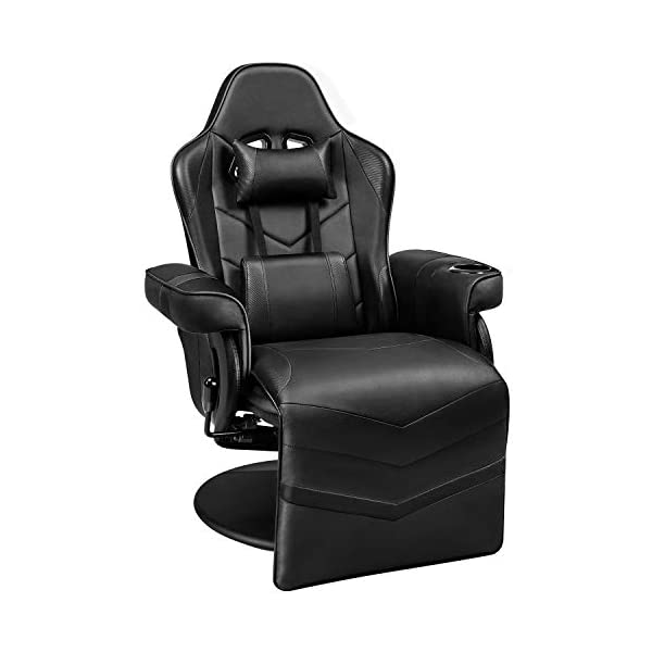 Homall Computer Desk Chair Gaming Recliner Chair Racing Style PU Leather Gaming Chair