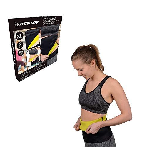 Dunlop Fitness Damen Bauchweggürtel Taillenformer Taillengürtel Bodyformer Miedergürtel Bauchgürtel Gürtel (XL)
