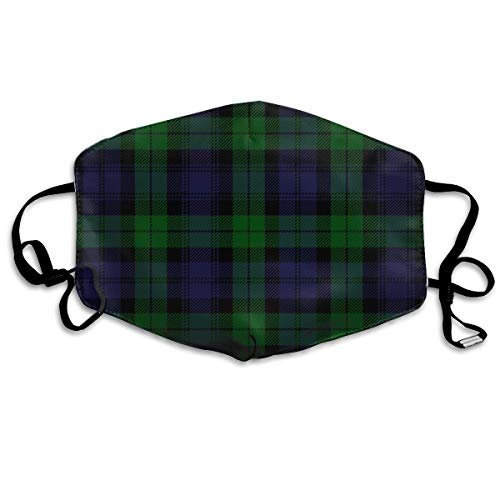 Unisex Masks Black-watch-tartan-plaid-royal-regiment Funny Face Mask Face Masks