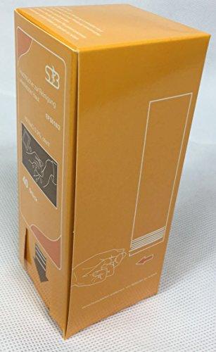 sterile Feuchttücher für unterwegs - einzeln verpackt (orange - NaCl 0.9%)