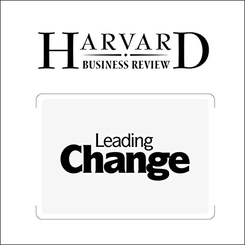 Leading Change: Why Transformation Efforts Fail  Titelbild