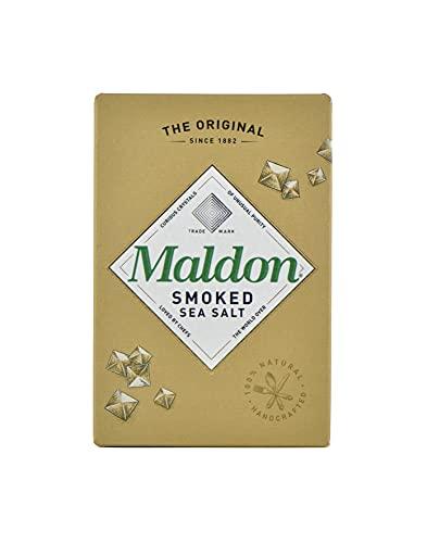 Maldon Smoked Sea Salt 125g, geräucherte Meersalzflocken